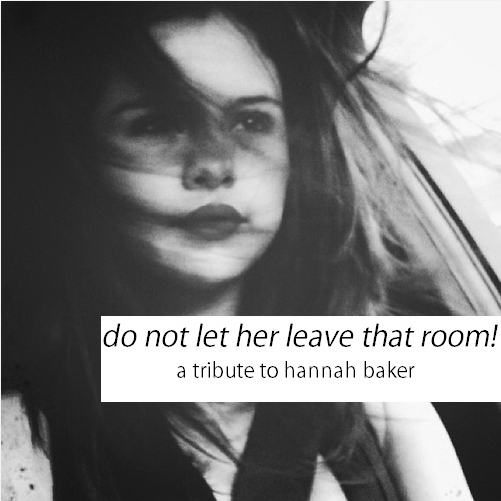 hannah baker here. live and in stereo