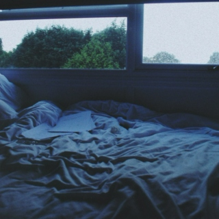Early mornings in empty beds