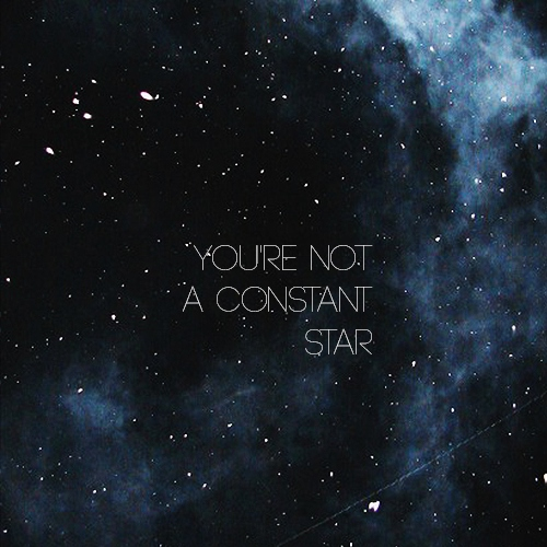 not a constant star