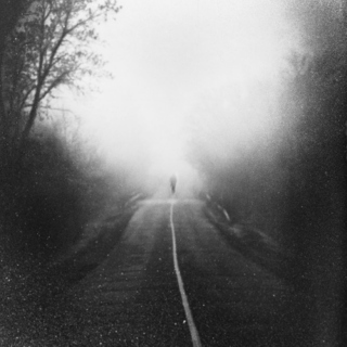 Walking alone in the darkness