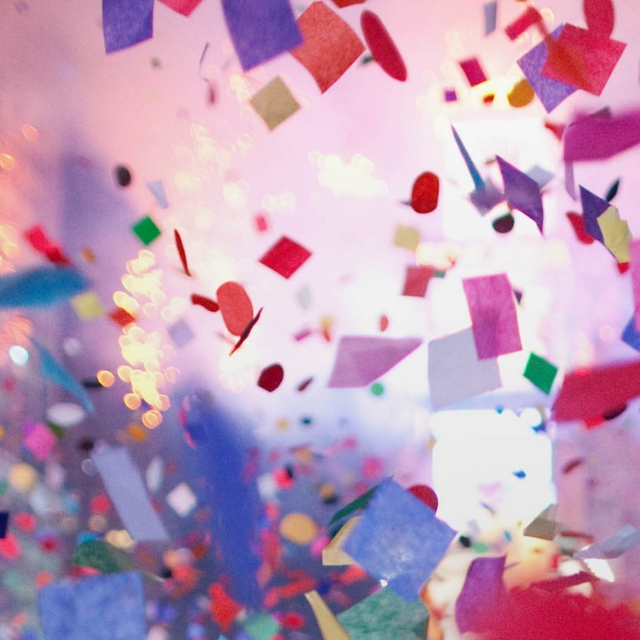 The Year of Confetti and Personal Happiness