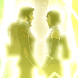korra and asami fell in love