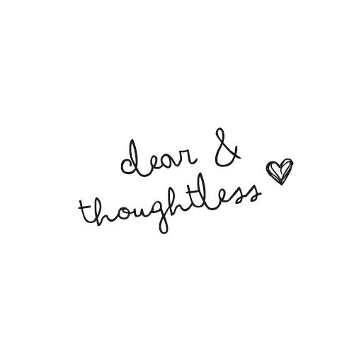 clear & thoughtless