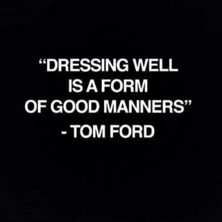 Stressed or depressed stay well dressed.