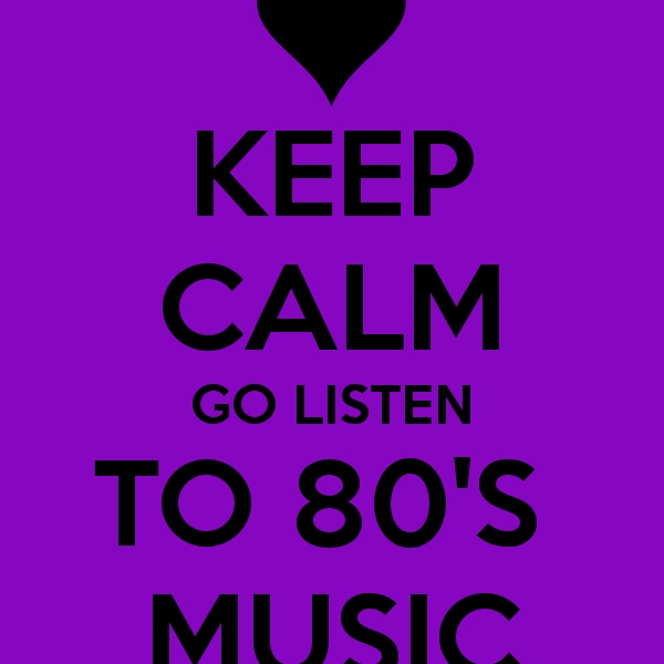 The best hits of 80's are here!