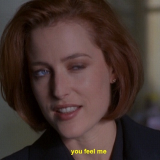 shut up mulder