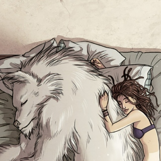 The Girl and Wolf