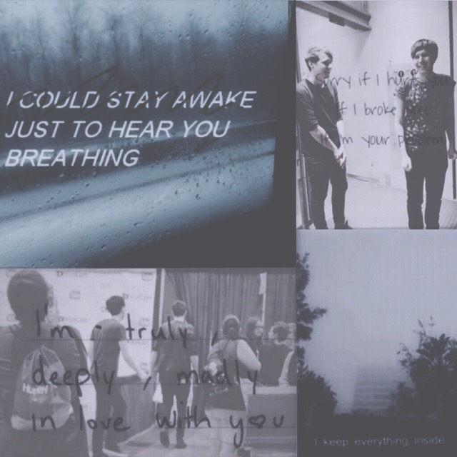 Just To Hear You Breathing // Phan