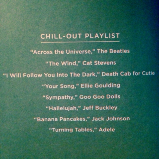 Chill-Out Playlist