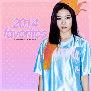 K-POP FAVORITES 2014