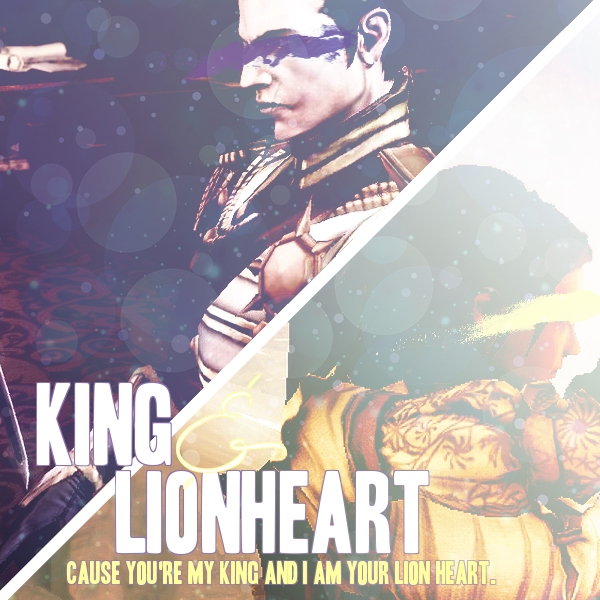 King & Lionheart