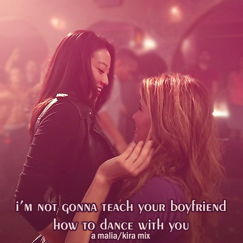 i'm not gonna teach your boyfriend how to dance with you