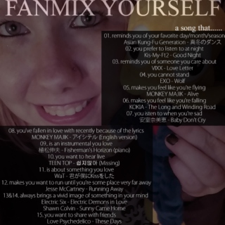 Fanmix Yourself | May