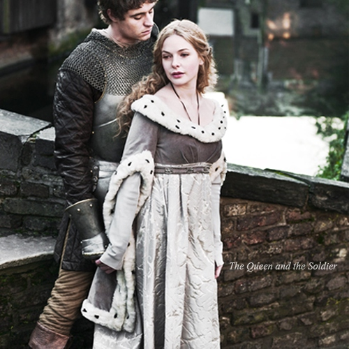 the queen and the soldier.
