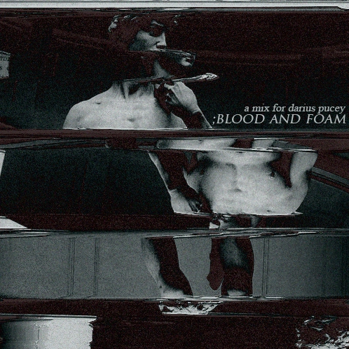 ;blood and foam