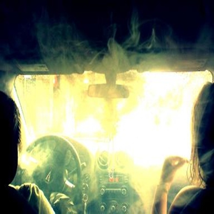Friday night hotboxing