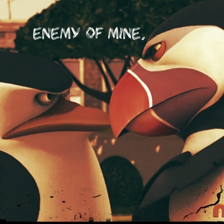 Enemy Of Mine. Skipper/Hans