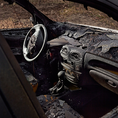 Dashboard Melted (But We Still Have The Radio)