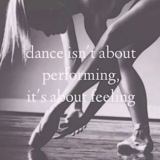 Dance makes the pain go away