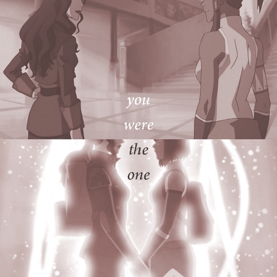 you were the one