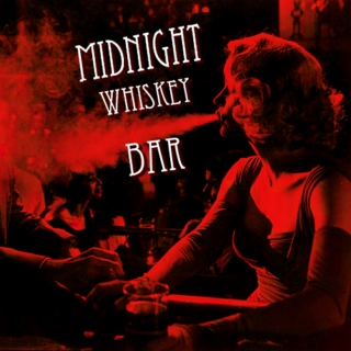 Midnight whiskey bar