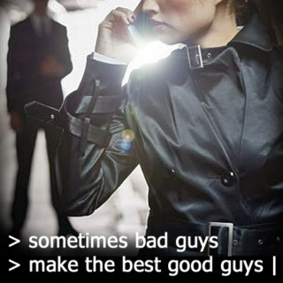 sometimes bad guys make the best good guys