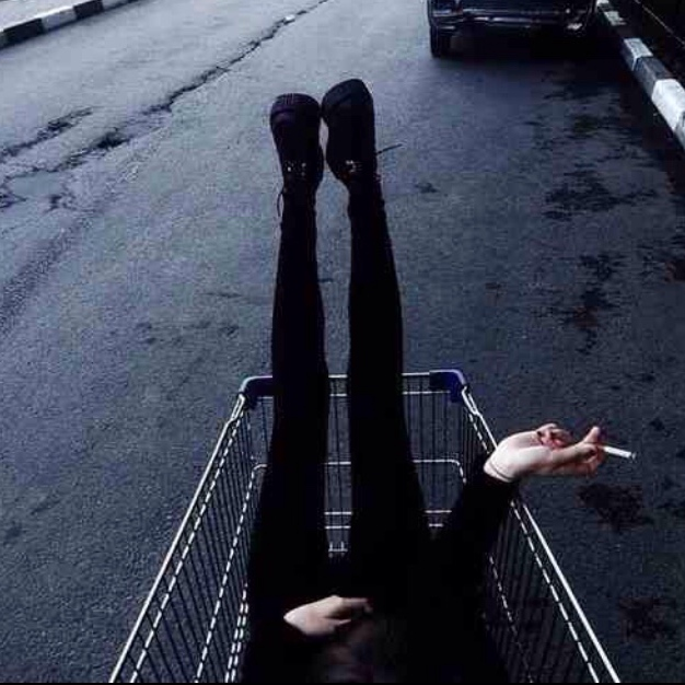 •buying happy from shopping carts•