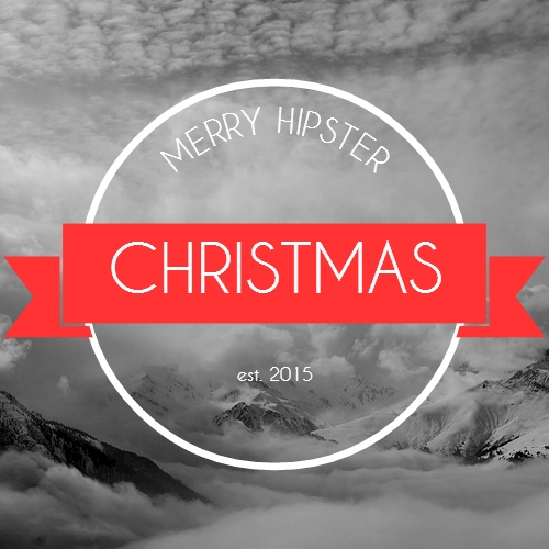 Merry Hipster Christmas