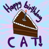 Happy Birthday Cat!