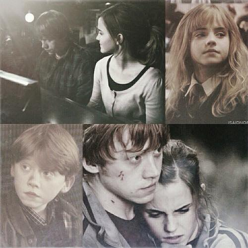 Darling, don't be afraid // Romione♡