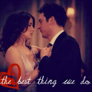 the best thing we do (ted x robin)