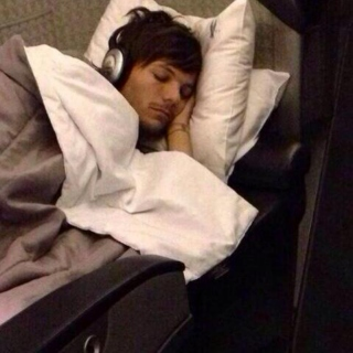 cuddles with louis