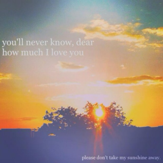 you don't know me, but I love you