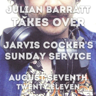 julian barratt takes over jarvis cocker's sunday service
