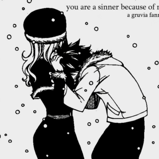 you are a sinner because of me