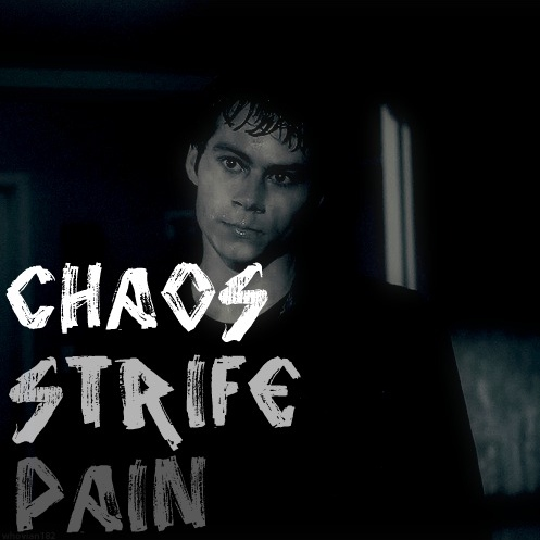 chaos, strife, pain