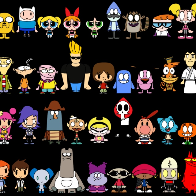 Cartoon Themes Over the Years