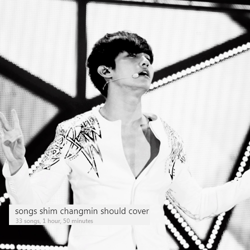songs shim changmin should cover