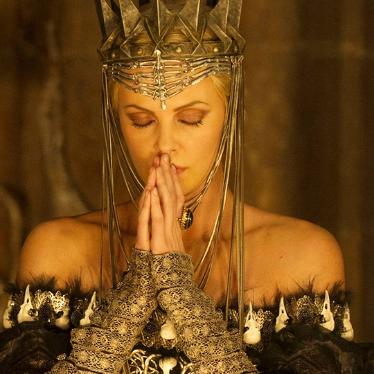 I will give this wretched world the queen it deserves.