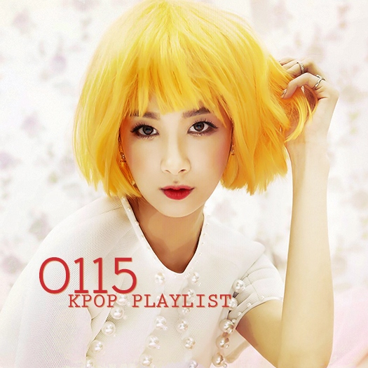 january '15 kpop playlist