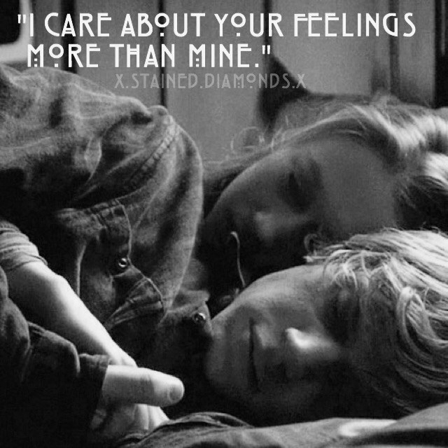 """I Care About Your Feelings More Than Mine."""