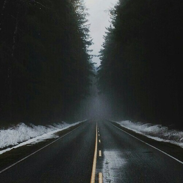 long roads & good music.