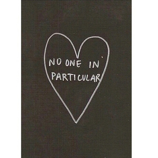 No one in particulair