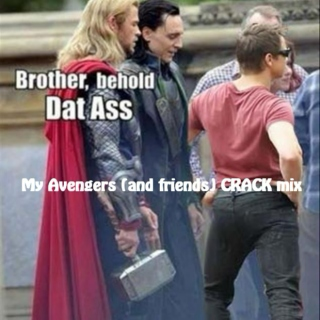 Avengers and friends CRACK