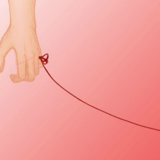 to the person on the other end of my red string.