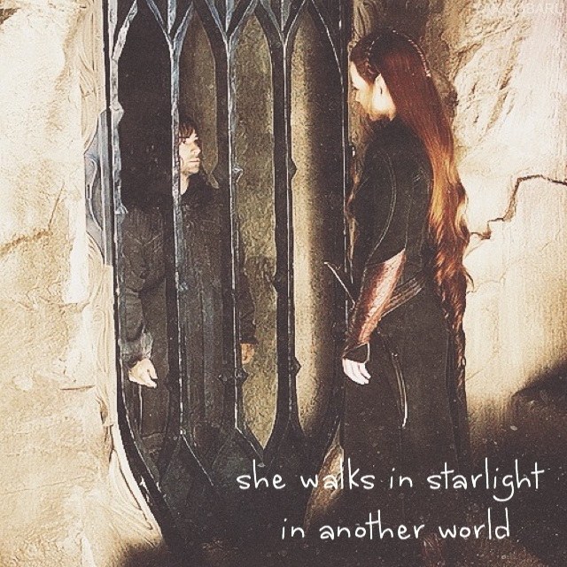 she walks in starlight in another world