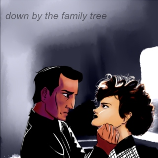 down by the family tree