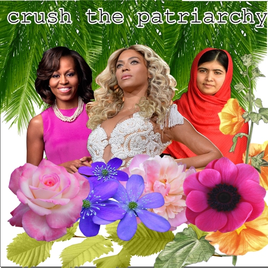 CRUSH THE PATRIARCHY