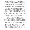 You are an amazing human :)