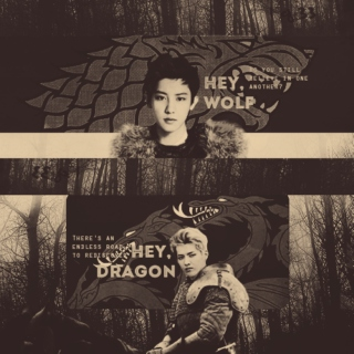 fire & ice | game of thrones au | krisyeol